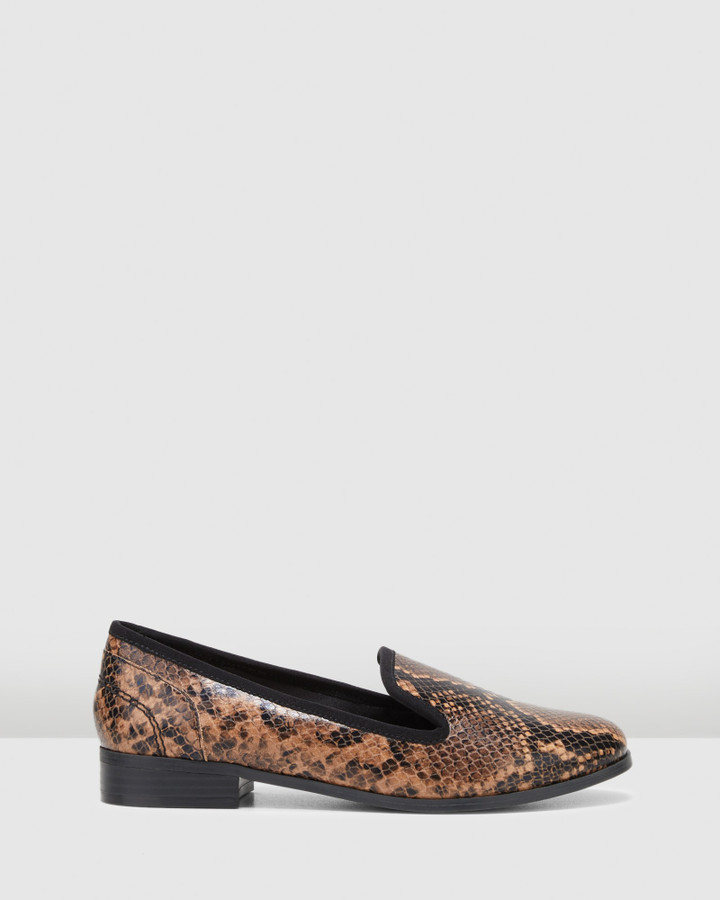 Hush Puppies Fantastic Brown Snake