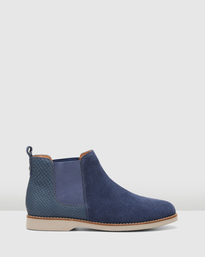 Hush Puppies Darya Midnight Suede