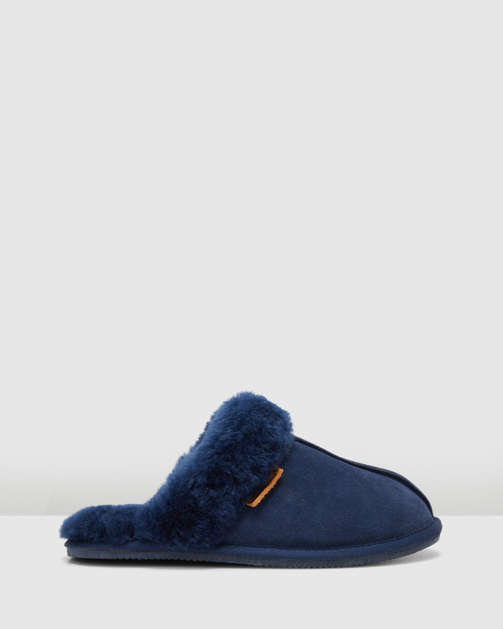 Hush Puppies Cushy Midnight Suede