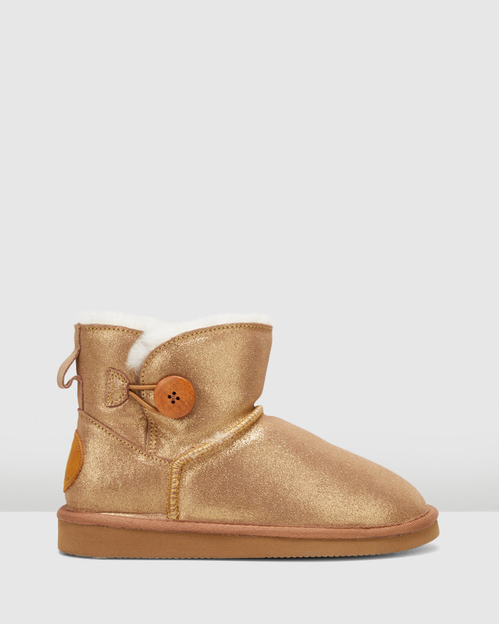 Hush Puppies Lounge Bronze Suede