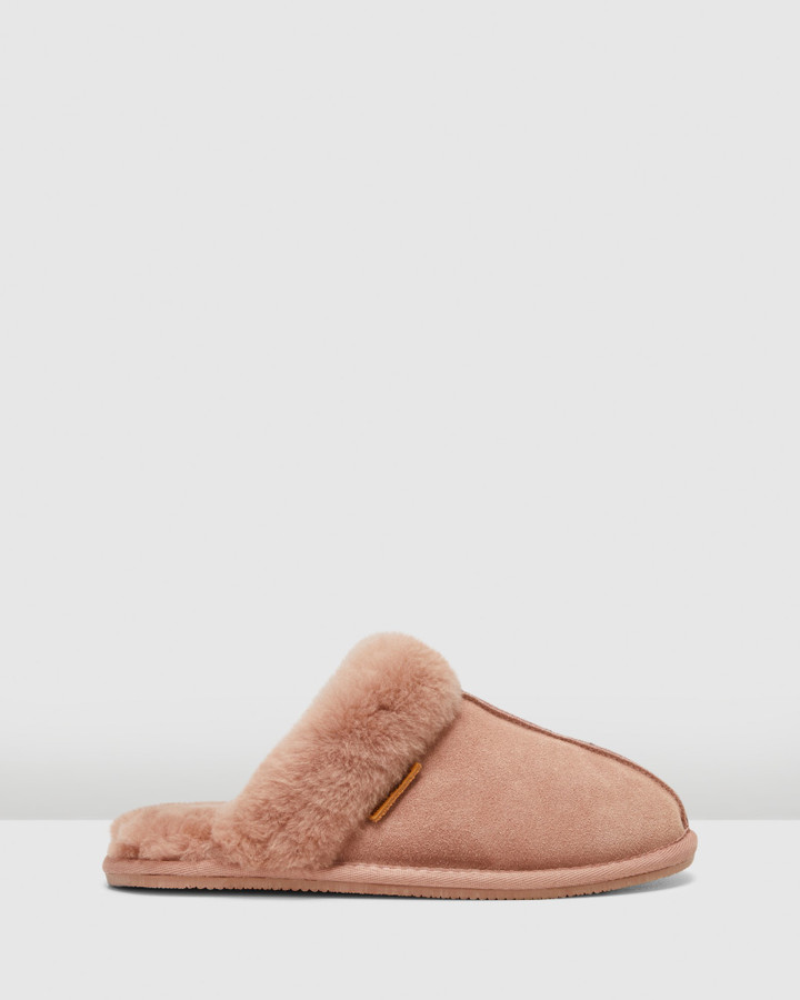 Hush Puppies Cushy Winter Blush Suede