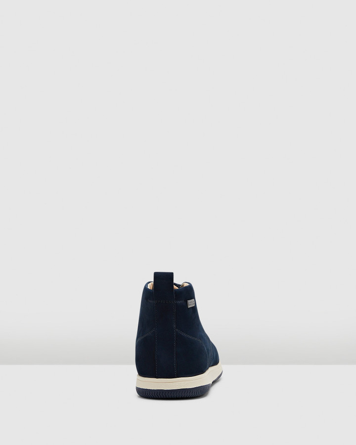 Hush Puppies Dale Navy Nubuck