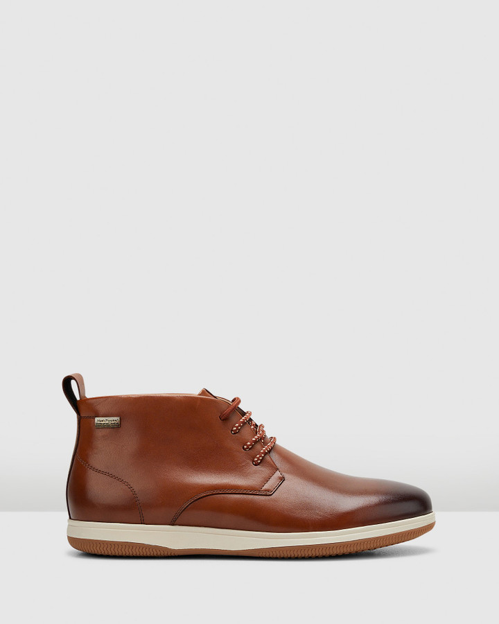 Hush Puppies Dale Tan Burnish