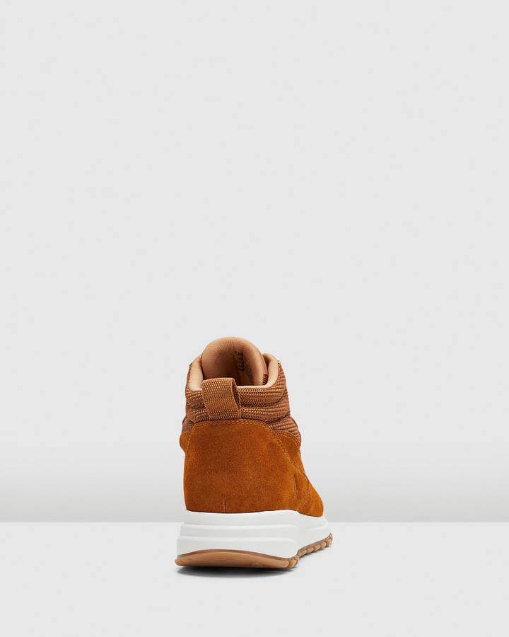 Hush Puppies Canyon Camel Suede