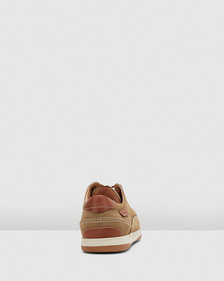 Hush Puppies Dusty Olive Nubuck