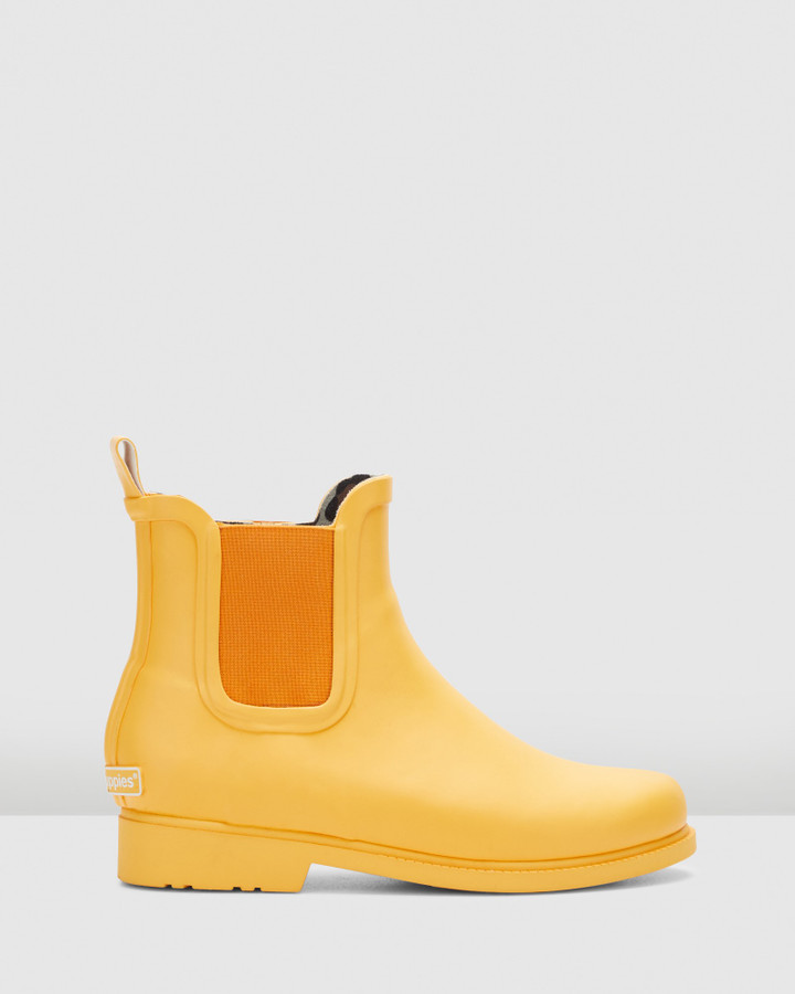 Hush Puppies Muddy Yellow