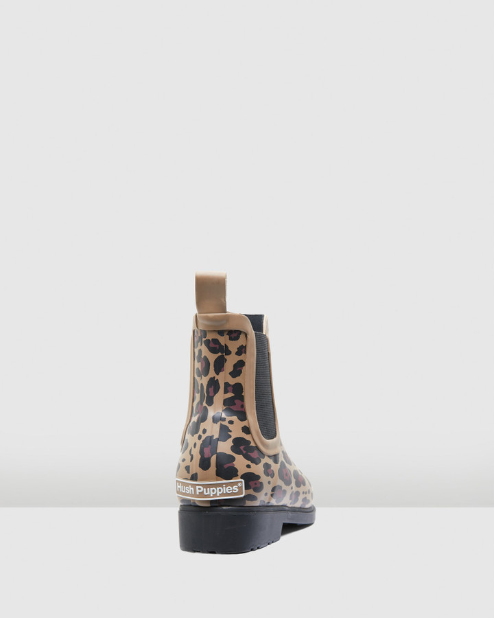 Hush Puppies Muddy Leopard