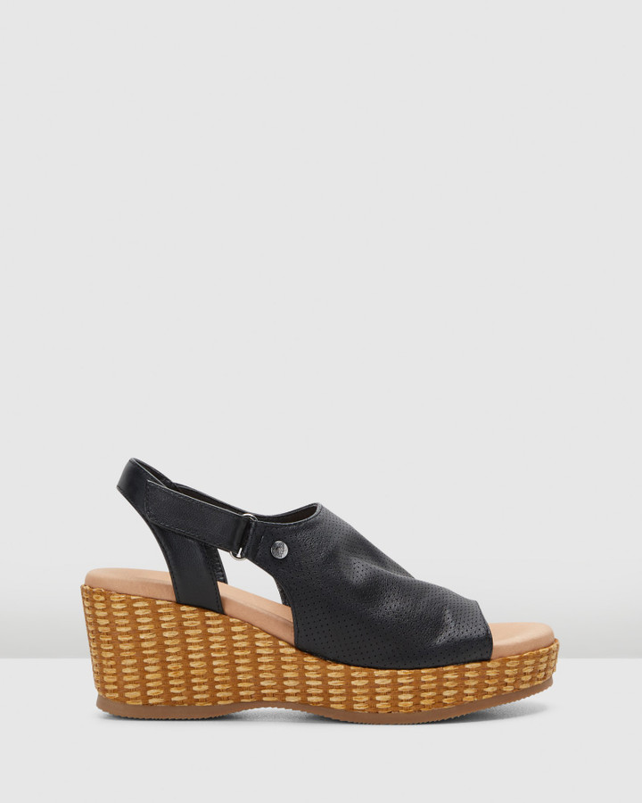 Hush Puppies Aruba Black