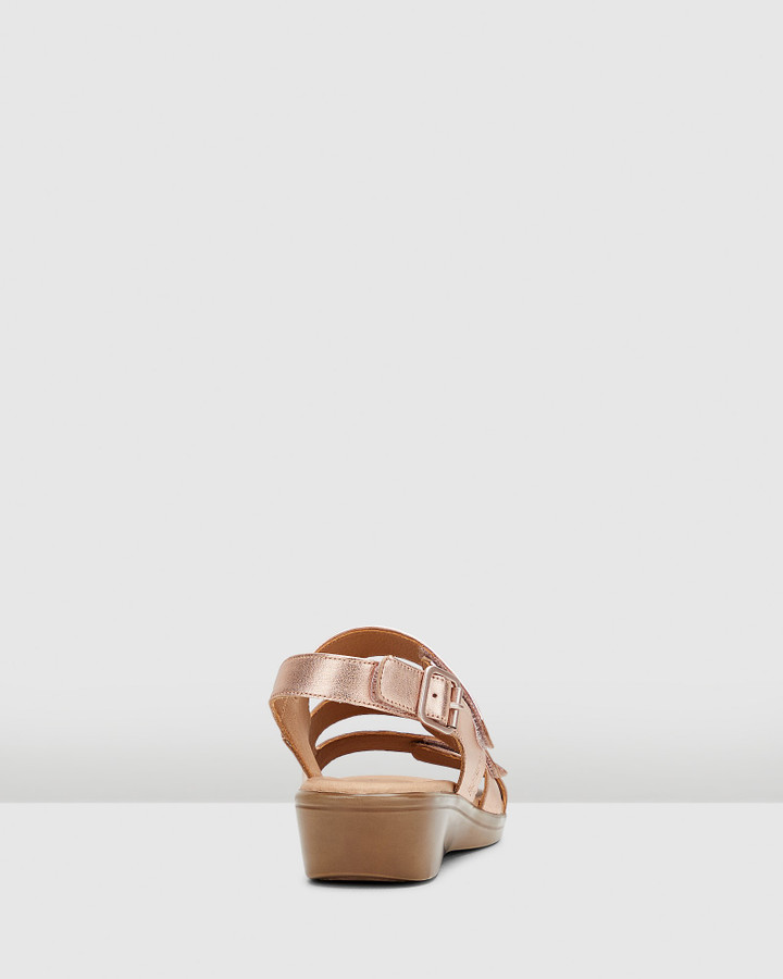 Hush Puppies Cloud Rose Gold Metallic
