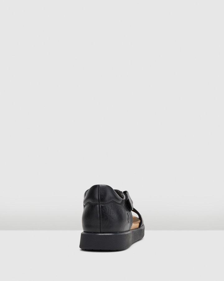 Hush Puppies Makani Black/Black