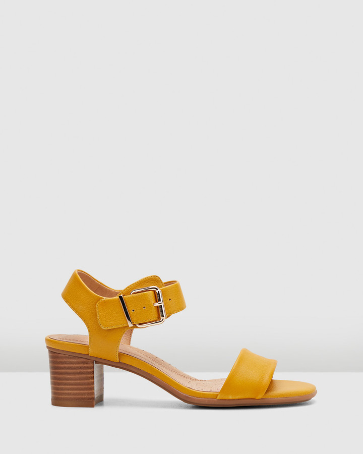 Hush Puppies Olivia Tuscan Yellow
