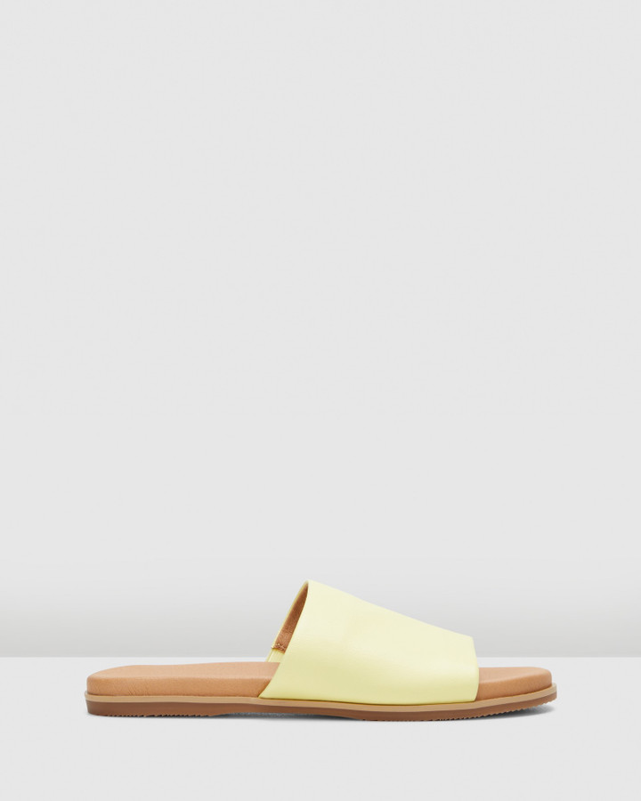 Hush Puppies Paradise Soft Yellow