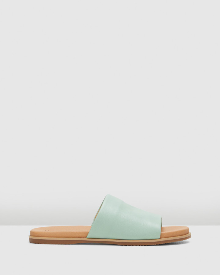 Hush Puppies Paradise Neon Mint