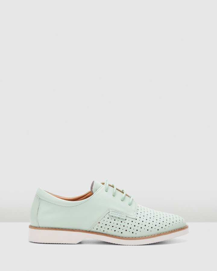 Hush Puppies Danae Neon Mint