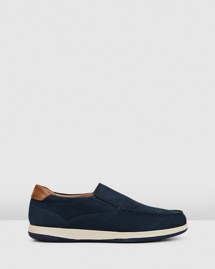 Hush Puppies Dixon Navy Nubuck
