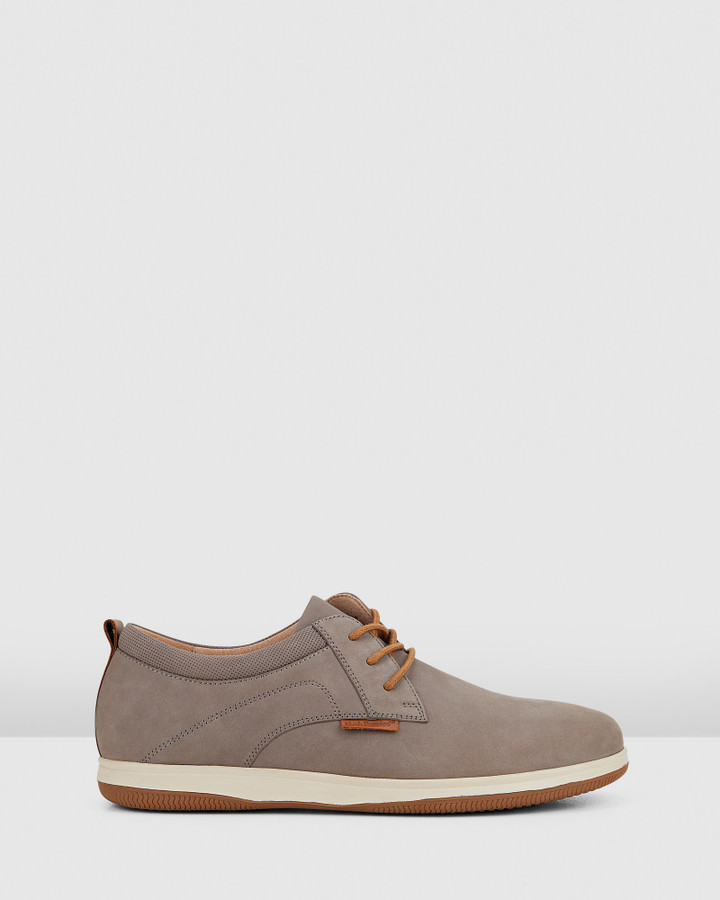 Hush Puppies Dominik Grey Nubuck