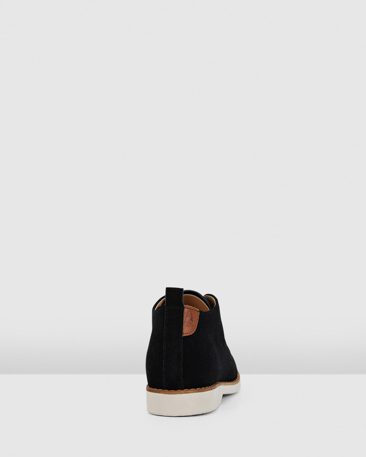 Hush Puppies Deena Black Suede