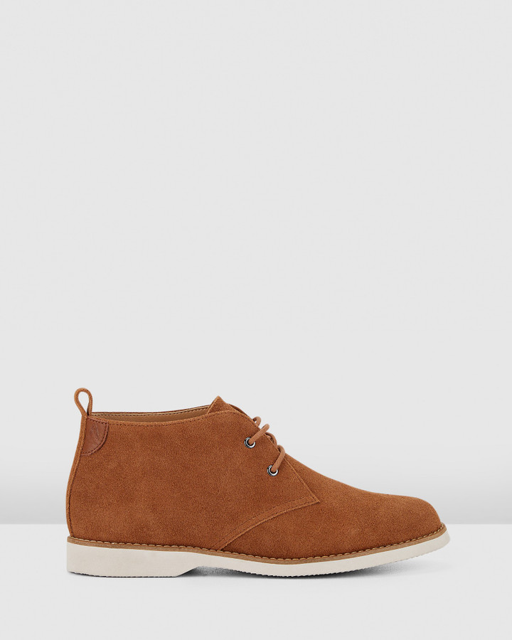 Hush Puppies Deena Tan Suede