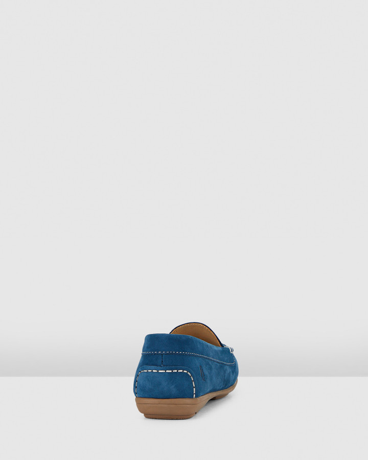 Hush Puppies Renita Ii Midnight Blue Nubuck