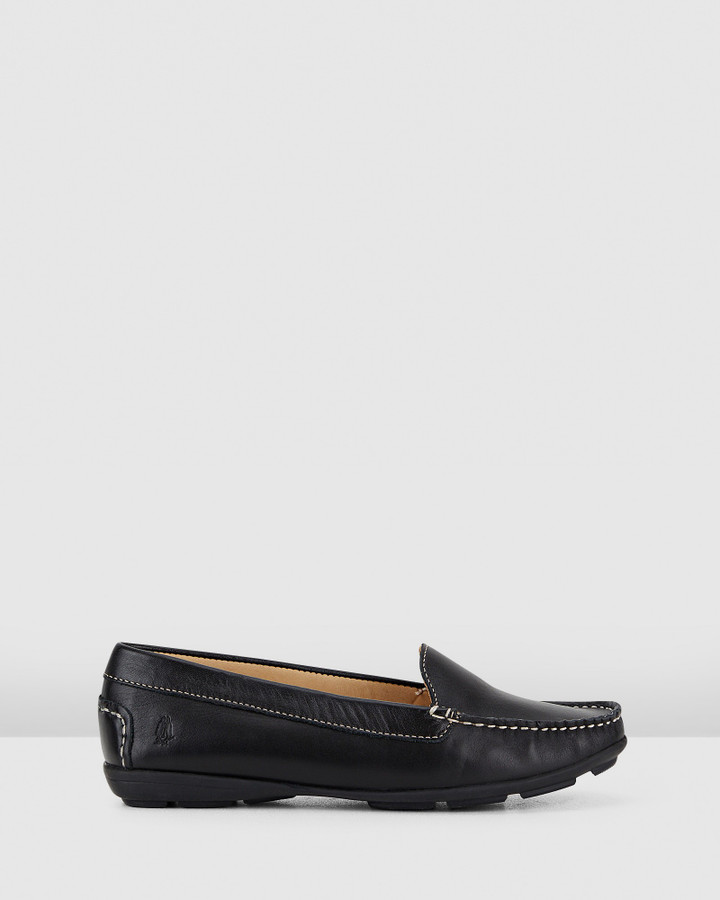 Hush Puppies Renita Ii Black Leather