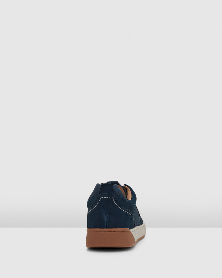 Hush Puppies Ampato Navy Nubuck