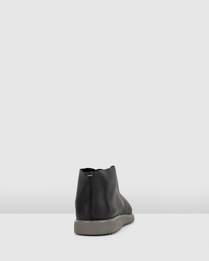 Hush Puppies The Everyday Chukka M Black Leather