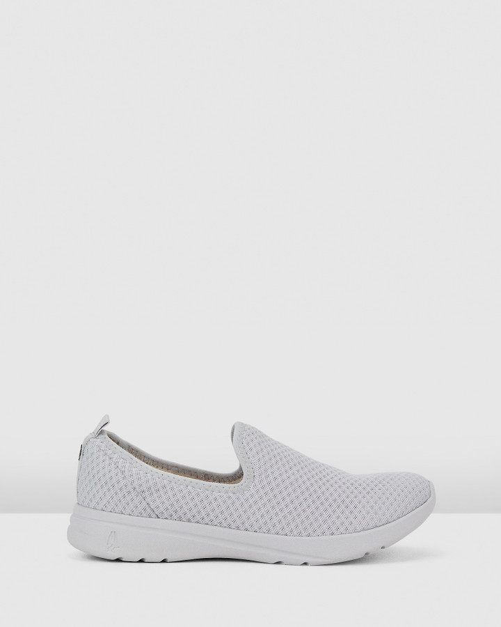 Hush Puppies The Good Slipon W Vapor Grey Textile