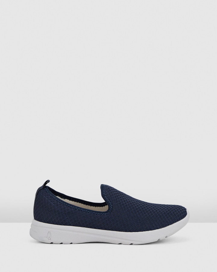 Hush Puppies The Good Slipon W Navy Textile