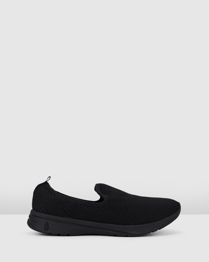 Hush Puppies The Good Slipon W Black Textile