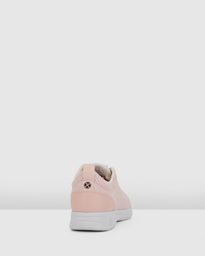 Hush Puppies The Good Laceup W Pale Blush Textile
