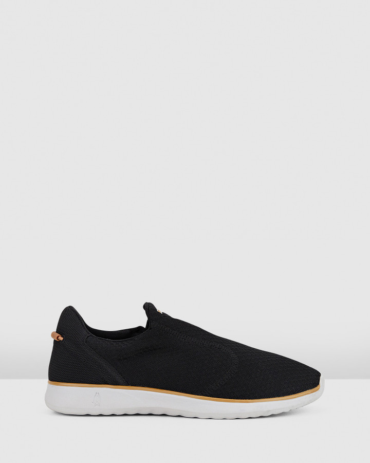 Hush Puppies The Good Slipon M Black Textile