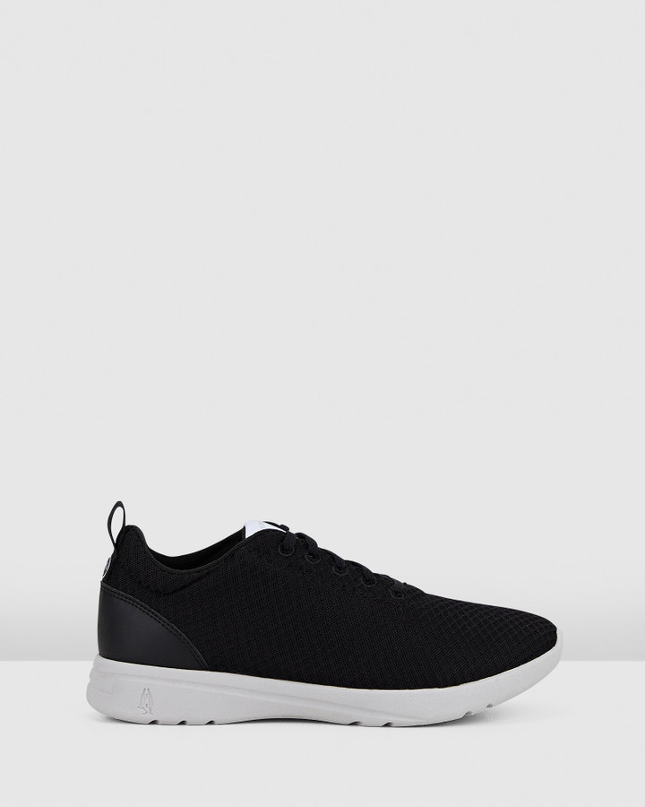 Hush Puppies The Good Laceup W Black/White