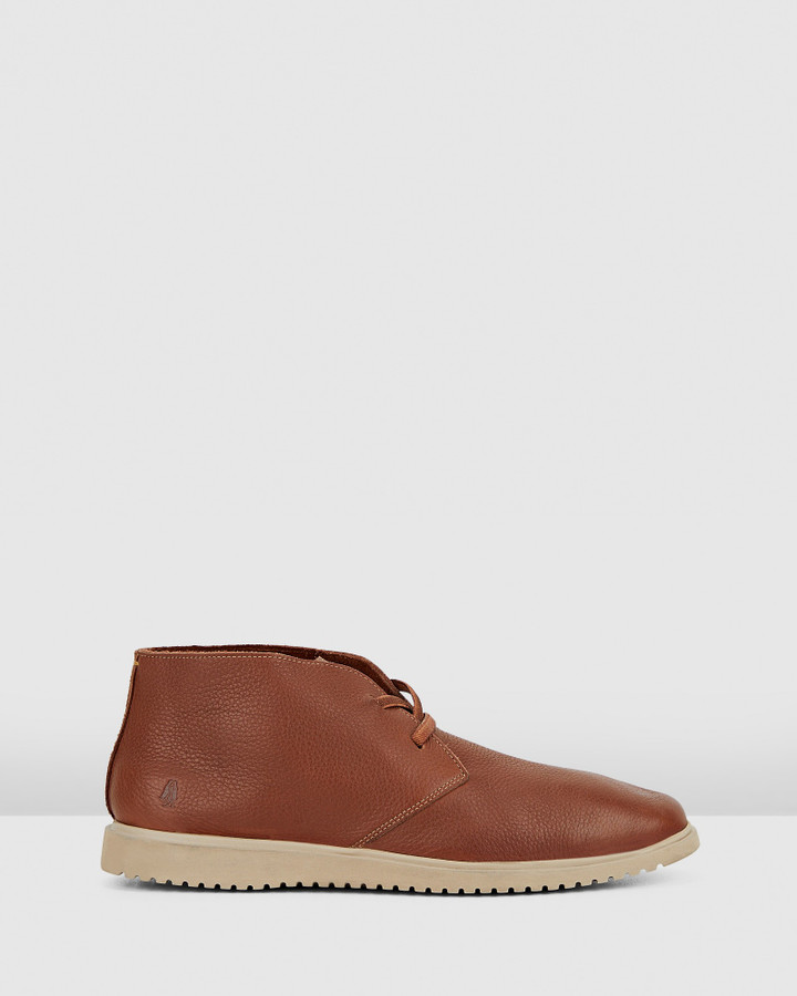Hush Puppies The Everyday Chukka M Cognac Leather