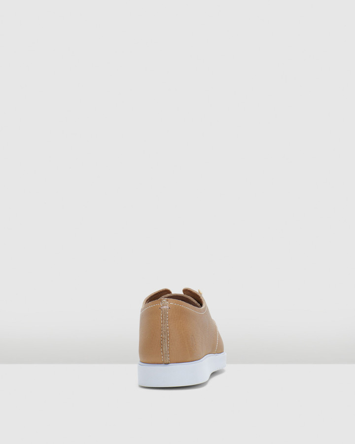 Hush Puppies The Everyday Laceup W Tan Leather