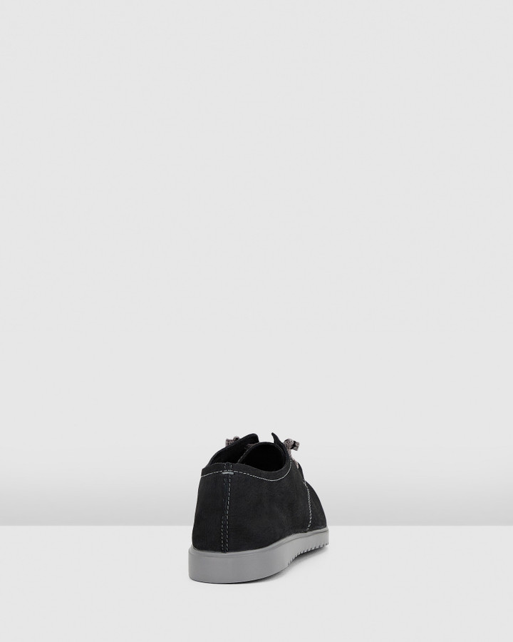 Hush Puppies The Everyday Laceup W Black Nubuck