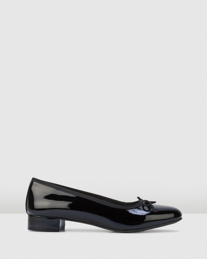 Hush Puppies Diana Black Patent