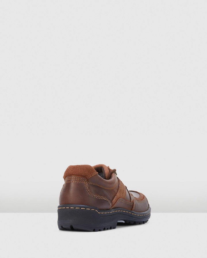 Hush Puppies Albatross Brown/Brown