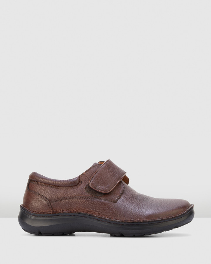 Hush Puppies Bloke Brown