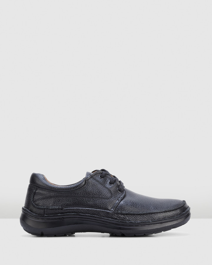 Hush Puppies Borrow Black