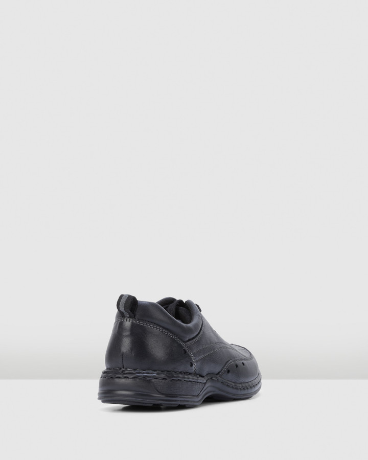 Hush Puppies Arcadia Black Broad