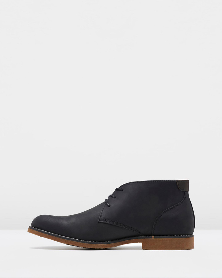 Hush Puppies Terminal Black Rub