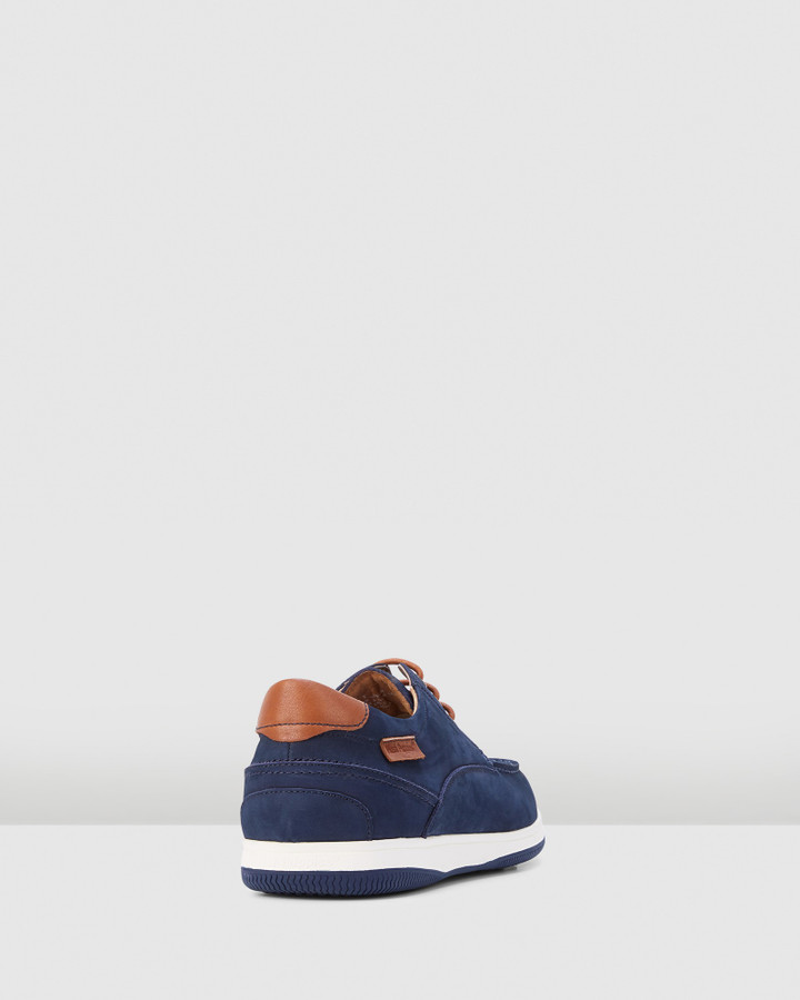 Hush Puppies Dusty Navy Nubuck