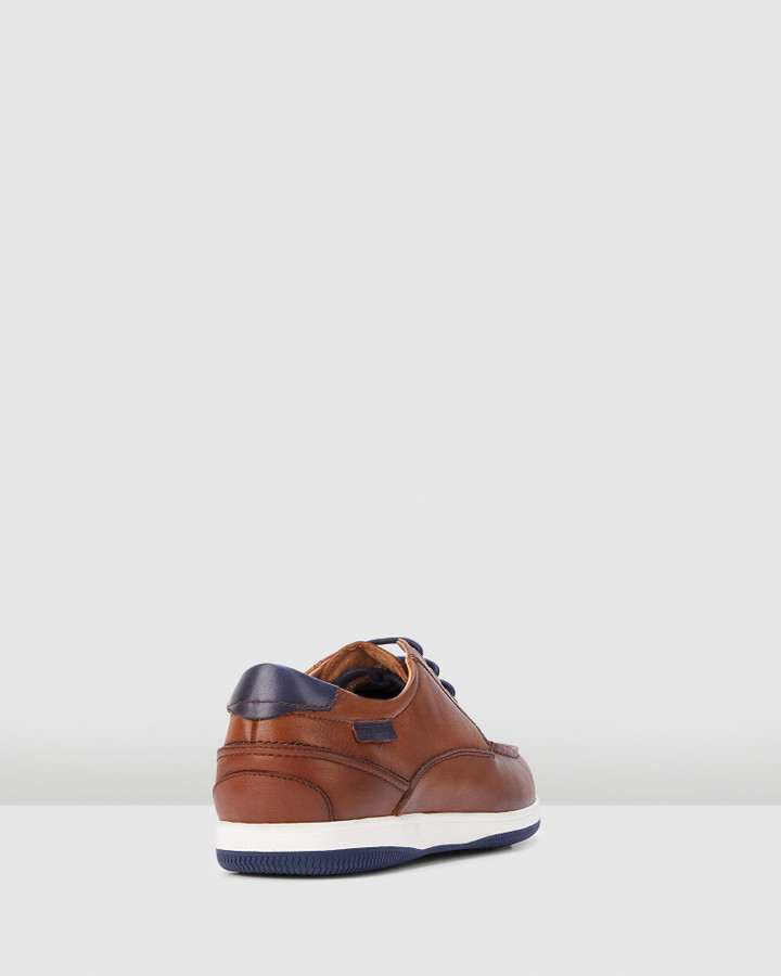 Hush Puppies Dusty Dark Tan