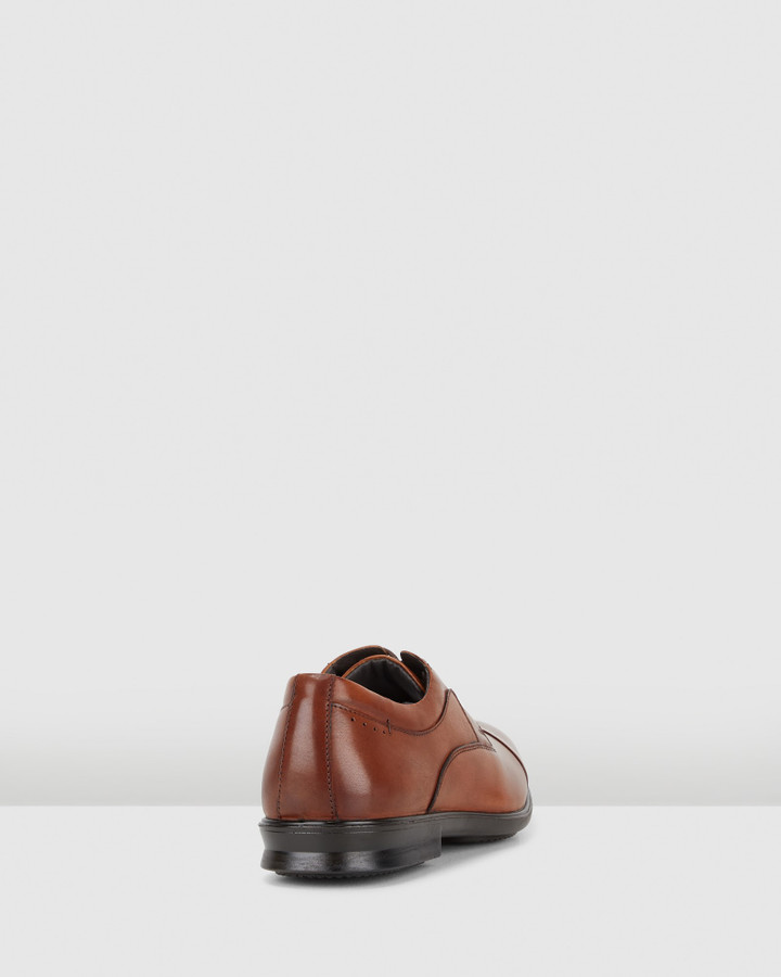 Hush Puppies Cain Tan Burnish