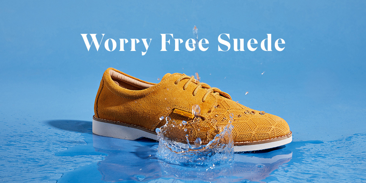 Worry Free Suede