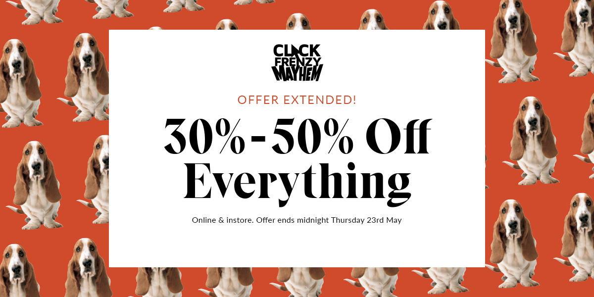 30 - 50% off sitewide
