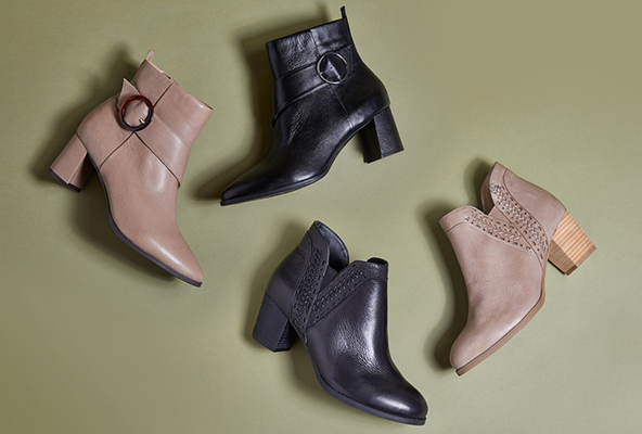 NEW BOOTS: LEATHER AS SOFT AS BUTTER