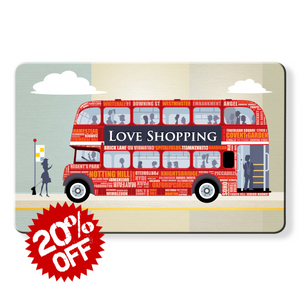 rfid card, Shopping London Bus - Dom Vari RFID blocker card