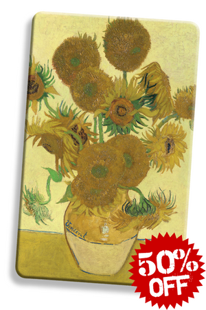 rfid card, Sunflowers by Van Gogh - National Gallery London RFID blocker card contactless