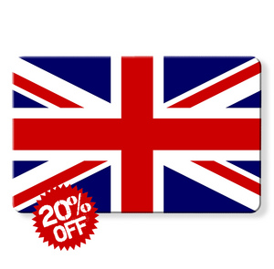 rfid card, Union Jack Flag - Contactless Protection Blocker Card